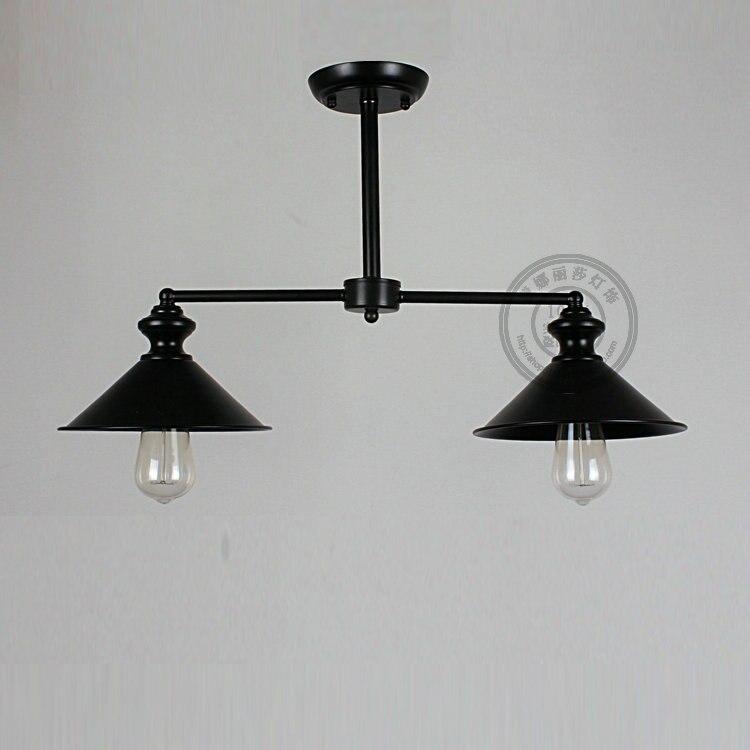 Ретро промышл Вышивка Крестом Пакет сообщение Европейский минималистский потолочный светильник ресторан спальня ретро половины лампа исс...