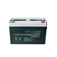 12 В 100AH аккумулятор герметичный AGM Глубокий Цикл батарея солнечная, RV, Off Grid