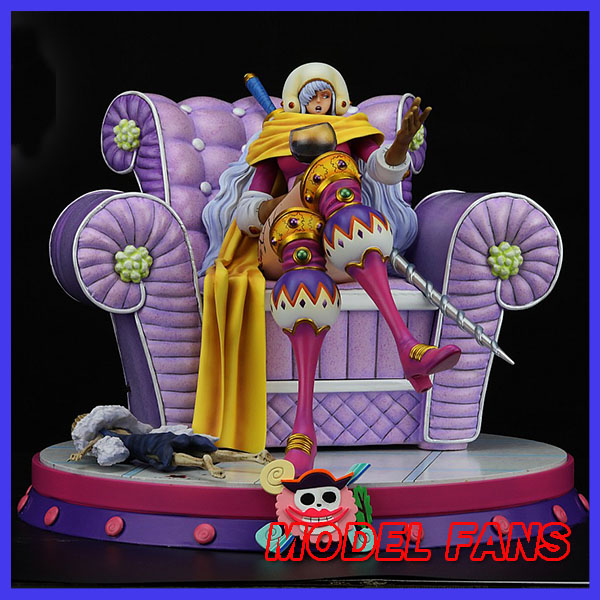 MODEL FANS INSTOCK One Piece JZ Big Mom Pirates Dessert four star Charlotte Smoothie gk resin statue figure for collection