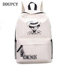 mochila de bolsas pieza Anime escuela una adolescentes Luffy la mochila niños 2018 moda nueva de hCdQsrxt