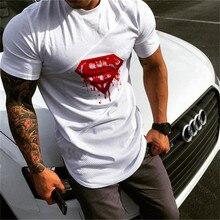 New 2017 extend hip hop street t shirt men fashion brand t shirts fitness men summer
