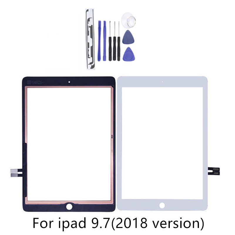 For iPad 9.7 (2018 Version) For iPad 6 6th Gen A1893 A1954 Touch Screen Digitizer Front Outer Panel Glass With 2GiftsFor iPad 9.7 (2018 Version) For iPad 6 6th Gen A1893 A1954 Touch Screen Digitizer Front Outer Panel Glass With 2Gifts