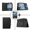 Tecknet Смарт Стенд Кожа case чехол для apple iPad mini 4 Tablet cover case для ipad mini 4 case + защитные пленки + стилус