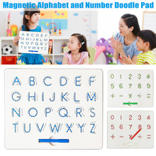 Baby Kids Doodle Magnetic Drawing Pad Board Toys Alphabet Number Educational Writing Gift YJS Dropship