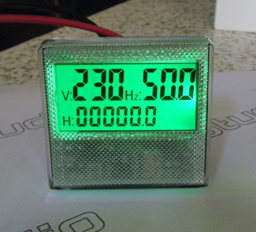 MU45 single phase digital display table 300V  generator meter frequency meter frequency meter