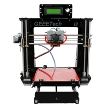 Ship from AU Geeetech I3 Pro C 3D Printer Double Nozzles Dual Extruders DIY Printing Kits Reprap Pursa I3