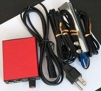 1セットタトゥー電源キットでクリップコード鋼の入れ墨フットペダルあなたの国プラグタトゥー電源キットセッ