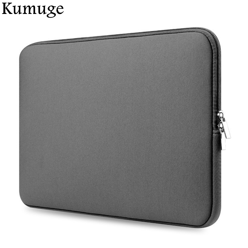 Soft Laptop Sleeve 11.6 13.3 14 15.4 15.6 Laptop Bag Cover for Macbook Air 13 Pro Retina 13 15 Case for Xiaomi Pro 15.6 Notebook