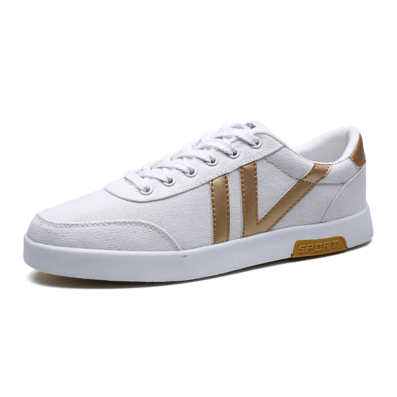 Prix pour Chaussures à la mode Pour Homme Toutes Les Saisons Planche À Roulettes Chaussures Sneakers Or/Noir D'origine Sneakers Planche À Roulettes Hommes Chaussures de Formation