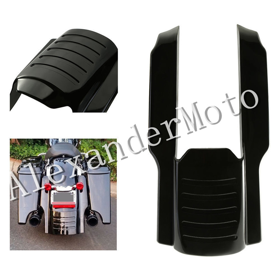 цены на Rear Fender Extension Stretched Bag Fillers for Harley Touring 1996-2008 1997 1998 1999 2000 2001 2002 2003 2004 2005 2006 2007