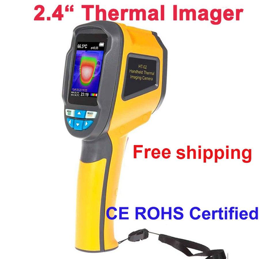 Портативная тепловая камера тепловизор ИК Инфракрасная тепловая камера Бесплатная доставка Новый стиль Доставка в большинство стран