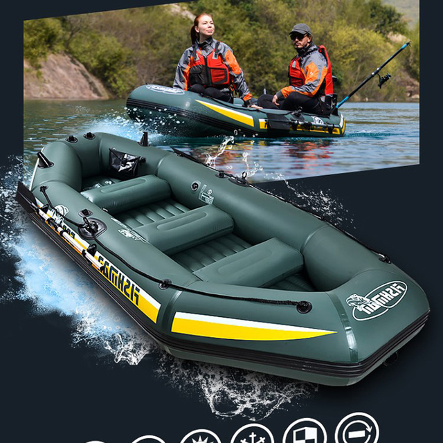 Super inflatable 4 people extreme sport fast