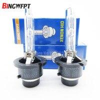 2 unids/par HID Xenon bombilla D2S D2R bombilla 12 V 35 W 4300 K 6000 K
