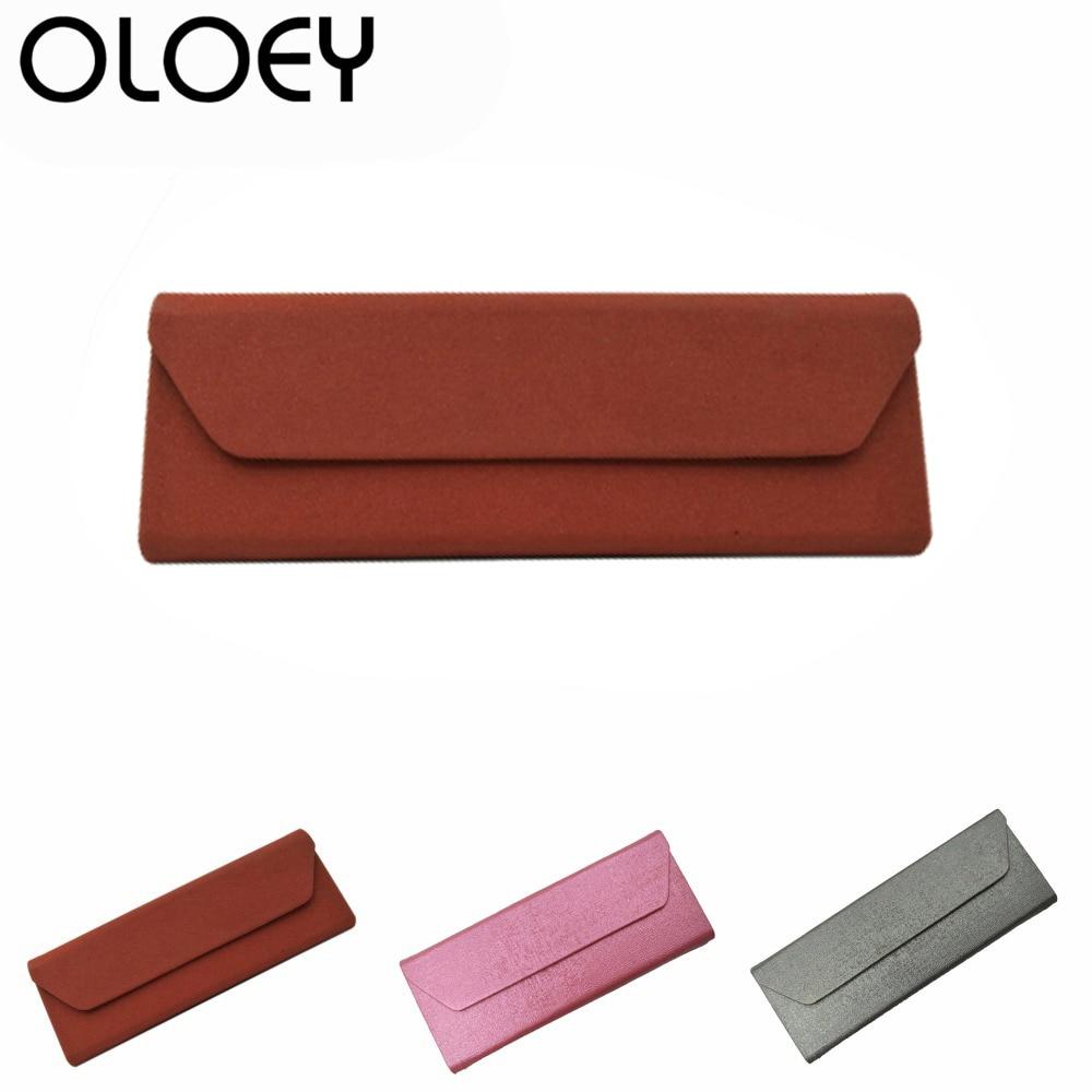 OLOEY nieuwe collectie magnetische opvouwbare zonnebril geval - Kledingaccessoires
