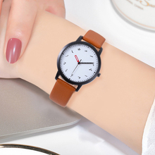Chinese Character Creative Design Watches Women Watch High Quality Leather Strap Ladies Quartz Clock WristWatch Relogio Feminino недорого