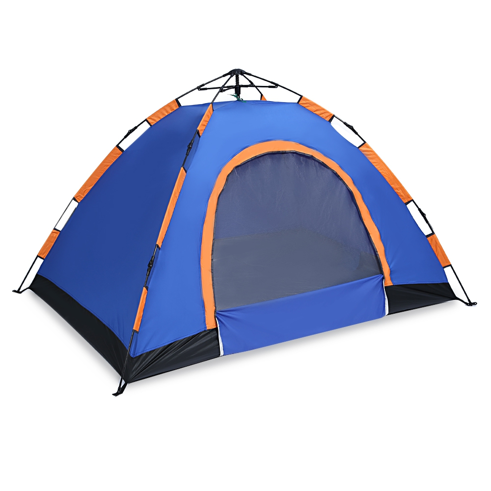 Pop Up Open Large Automatic Instant Setup 2-3 Person Tent Easy Foldable Shelter with anti-UV Water resistant and Coating Camping shengyuan outdoor water resistant automatic instant setup two doors 3 4 person camping tent with canopy