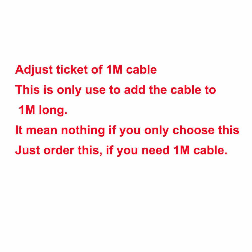 1 шт. 1 м кабель или крышка капота для 1 шт. led Газон Свет 3 Вт 5 Вт 7 Вт 9 Вт светодиодный фонарь Регулировка цены использования