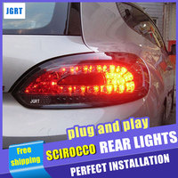 Car Styling For VW Scirocco Taillights 2000 2014 Scirocco Rear Lights Dedicated Car Light Led Taillight