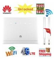 Разблокированный huawei B315 B315s 22 с антенной 150 Мбит/с 4G LTE CPE Модем Wifi Router