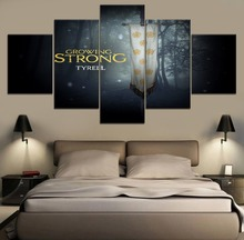 5 Pieces Canvas Painting Game of thrones Movie Poster Modern Home Decor Living Room Wall Art Print Picture Artwork