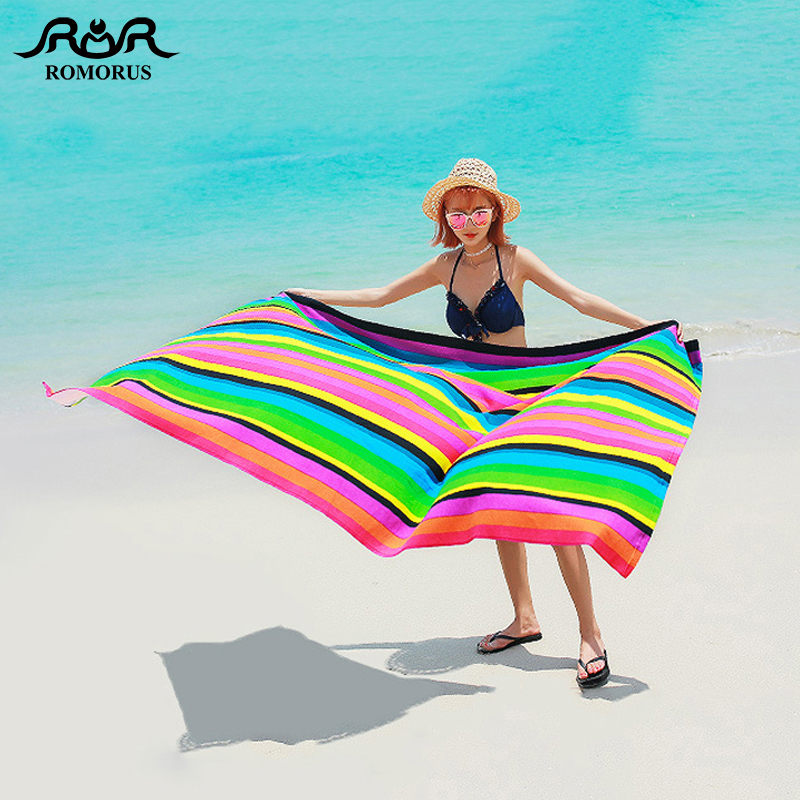 Extra Large Beach Towels.Us 13 92 30 Off Extra Large Beach Towel Microfiber 100 180cm Bath Towel For Adults Beautiful Sunset Striped Horse Print Towels Serviette De Bain In