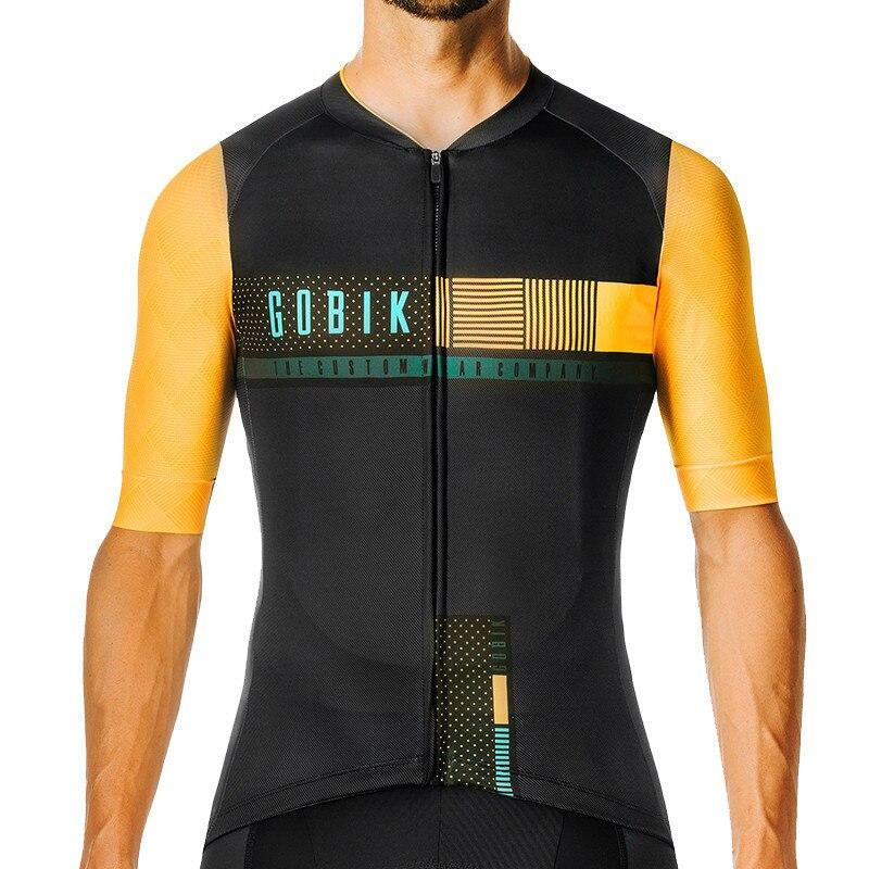 mejor comprar lujo otra oportunidad US $8.39 30% OFF|Aliexpress.com : Buy GOBIK 2019 MTB Pro Team Short Sleeve  Men Cycling Jersey Bicycle Summer Bike Cycling Clothing Ropa Ciclismo ...