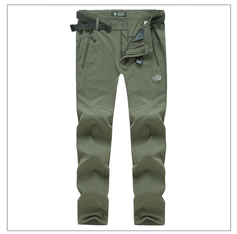 2016 Mens Brand-Clothes AFS JEEP XXXXL Quick Dry Pants Ourtdoor Waterproof Straight Loose Trousers Plus Size Casual Long Pant (14)