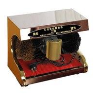 Fully Automatic Shoe Shine Machine Home Induction Office Use Electric Brush Rose Gold Shoe Shaker