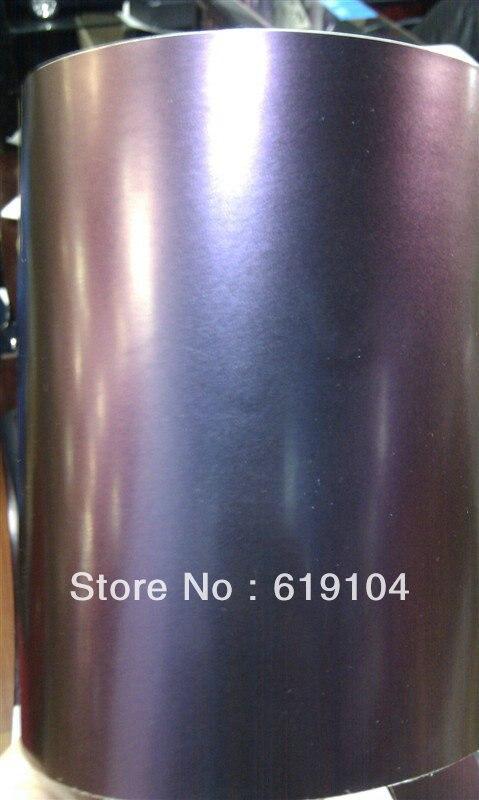 CnHGarts ROHS certificat 1.52x30 M air bulles libres avec la chaîne caméléon autocollant de voiture voiture peinture protection film