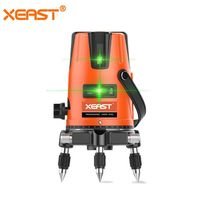 Xeast 2 Lines Green Laser Level Meter Powerful Green Laser Beam Line Self Level 360 Vertical