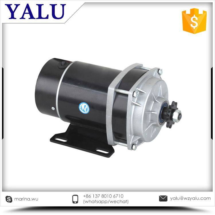 ФОТО Small and Medium Size Pedicab E-Tricycle Motor MY1020ZXF 450W 36V or 48V gear reduction motor