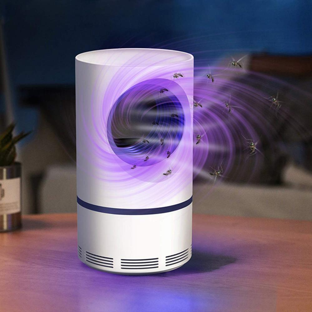 Dc5V UV Light Upgraded USB Mosquito Killer Lamp 5W Pest Control Anti Mosquito Repellent Bug Zapper Killer Night Light