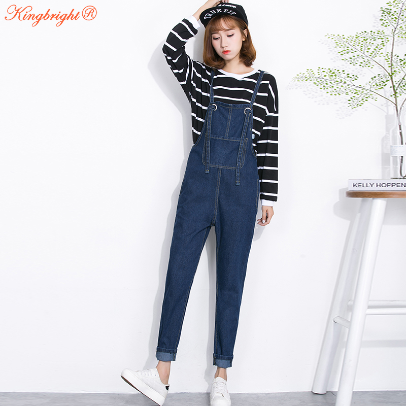 Popular Denim Overalls Women-Buy Cheap Denim Overalls Women lots ...