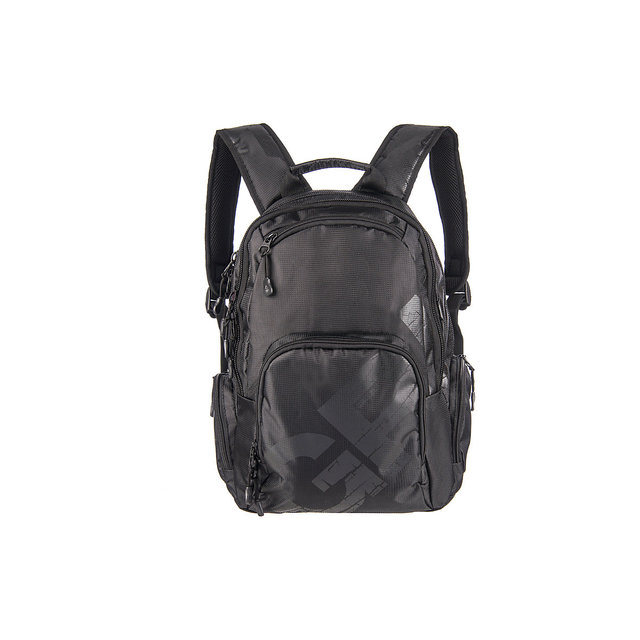 Рюкзак школьный Grizzly черный