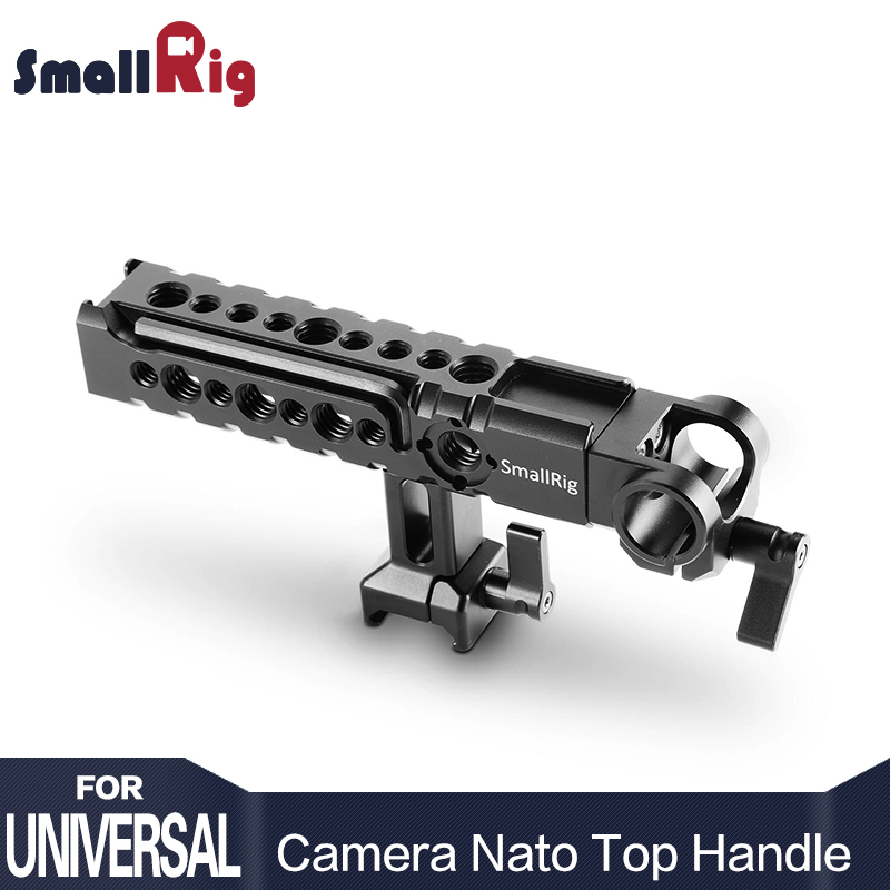 SmallRig Top Handle Accessory Kit 2027 Multi Functional Camera Rig Cheese Handle with Rod Clamp and