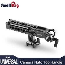 SmallRig Top Poignée Accessoire Kit 2027-Multi-Fonctionnelle Caméra Rig Fromage Poignée avec Tige Pince et Cachée Hex clé