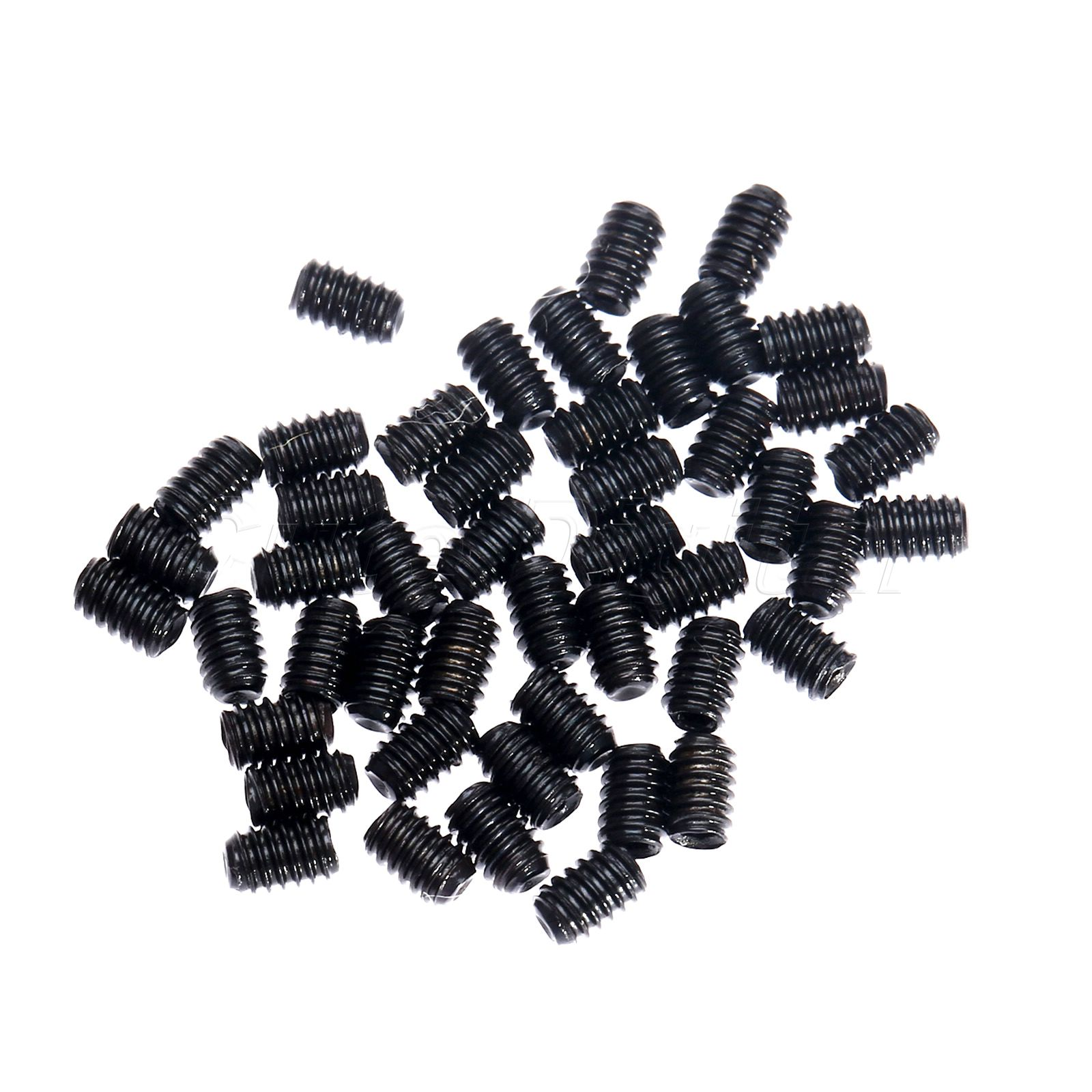 50PC/<font><b>set</b></font> M2x 3mm Metric Thread Carbon Steel Allen Head Hex <font><b>Socket</b></font> Grub <font><b>Screws</b></font> Bolts Fasteners Self-tapping <font><b>Screw</b></font> <font><b>Socket</b></font> Head <font><b>set</b></font>