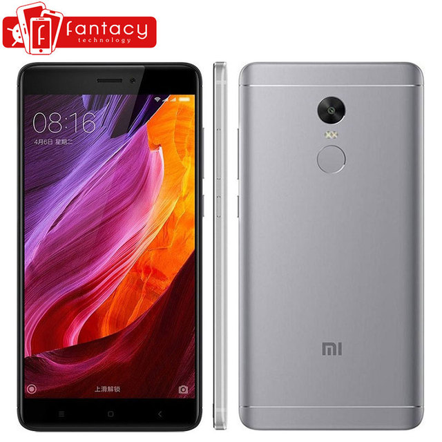 "Оригинальный Xiaomi Redmi Note 4x4x3 ГБ 32 ГБ Смартфон Snapdragon 625 Octa Core 5.5 ""FHD 13MP отпечатков пальцев ID Global Miui 8 оты"