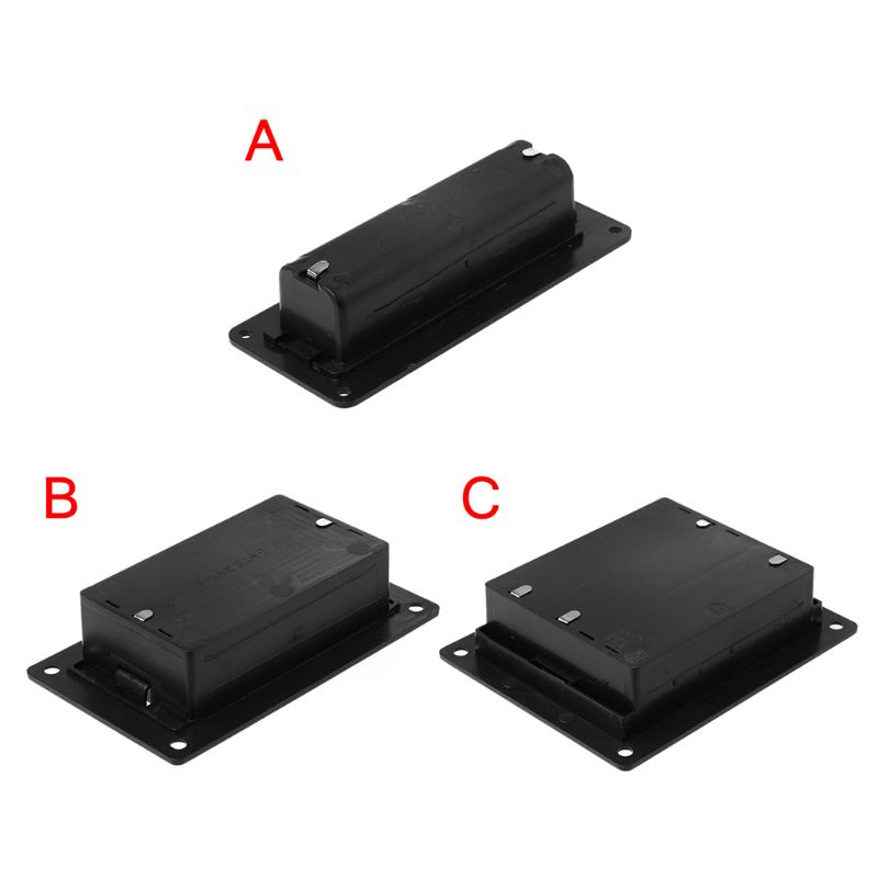 18650 Li-ion Battery Case Holder Cell Batteries Storage Box Container Plastic DIY Accessories