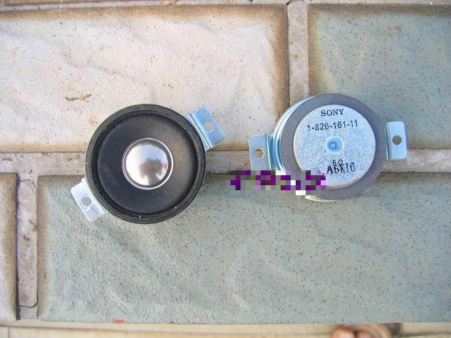 2 teile/paket 1,5 zoll 6 Ohm 20 Watt hochtöner lautsprecher aluminium stimme louderspeaker spule ferrofluid gute Audio sound für Sony