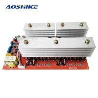 AOSHIKE Pure Sine Wave Frequency Inverter Power Board DC 24V 36V 48V 60V To 220V High power 6000W Circuit Main Model inverters