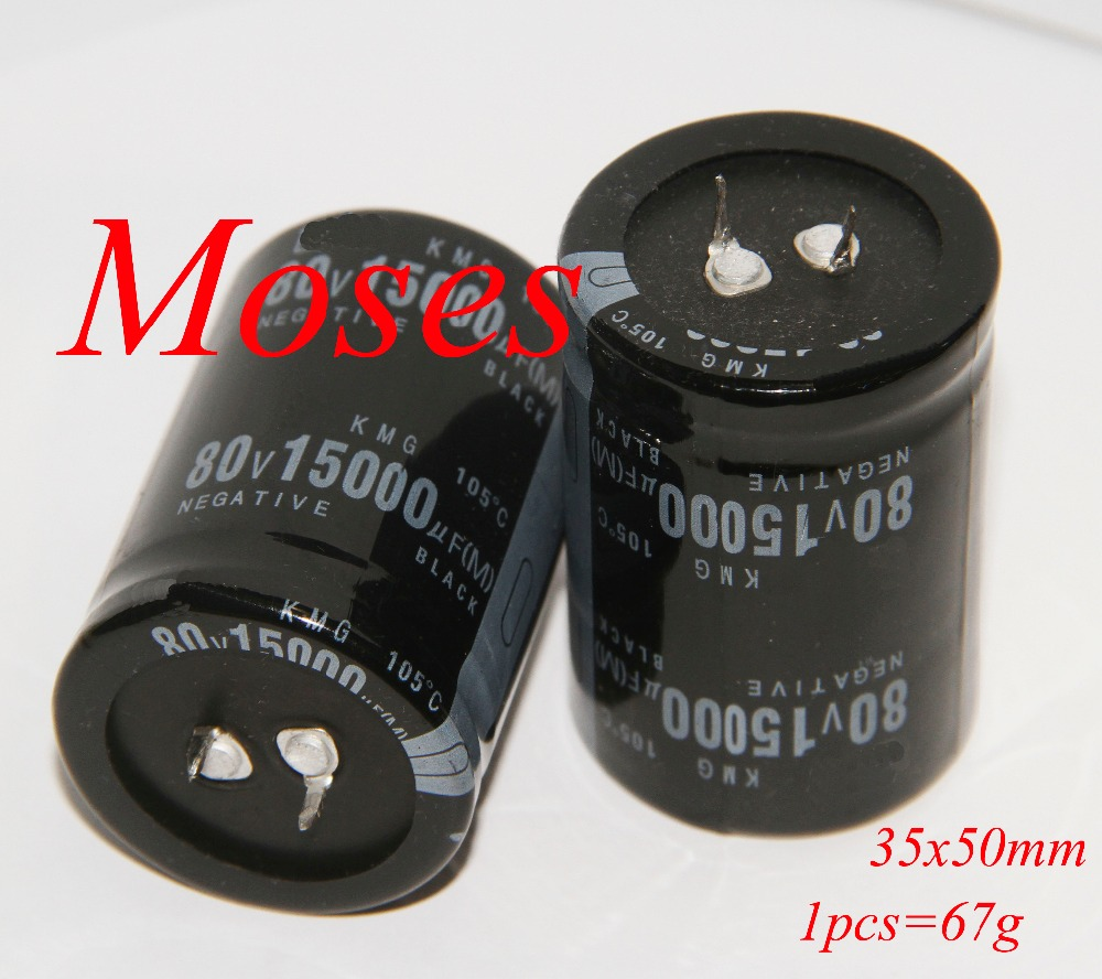 80v 15000uf 100 High quality Electrolytic Capacitor capacitance Radial 35x50mm 10pcs