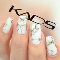 KADS 12sheet/Set Marble Design 12 color nail   Sticker   Manicure Design Water Transfer Nails Art   Stickers   for nails accessories