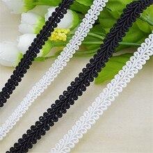 25 м цвета: золотистый, серебристый, черный слитки ленты для самостоятельного изготовления аксессуаров волнистые тесьма одежды волос аксессуары кружево клейкая лента отделка