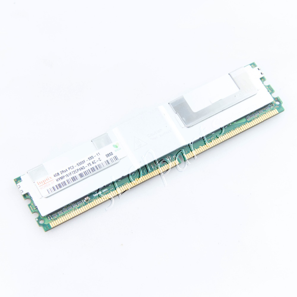 New PC2-5300F for 4G Server Memory XW8600 XW6400 XW8400 ML150G3 XW6600 450260 b21 445167 051 2gb ddr2 800 ecc server memory one year warranty