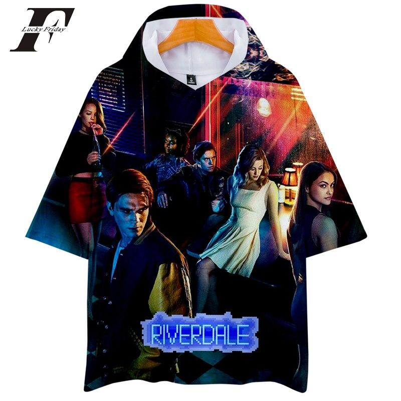 Hoodies & Sweatshirts 2018 Riverdale Hoodies Sweatshirts Men Women South Side Serpents 3d Summer Harajuku Men Hooded Sweatshirts Clothes 4xl