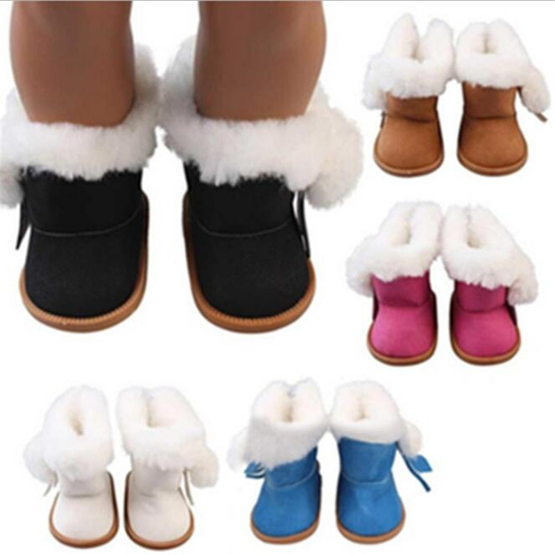 Born Baby Doll Shoes Accessories Fit 18 Inch 40-43cm Spring Summer Autumn Doll Hayi Clothes Suit For Baby Birthday Festival Gift