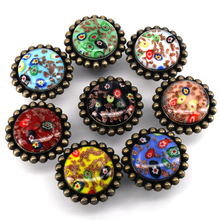 Chinese Elements Furniture Door Drawer Pull Handle Wardrobe Knobs Crystal Glass Alloy Cabinet Knobs Pulls with Screws стоимость