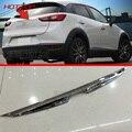 HOTTOP CX-3 ABS Trunk Chrome Rear Guarnição Tampa tampa Para Mazda 2015 2016 2017 Carro Styling