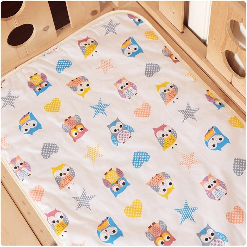 50*70cm Baby Changing Mat Infants Portable Foldable Washable Waterproof Mattress Children Game Floor Mats Reusable Diaper